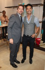 Ethan Hawke and Jemy from MoroccanOil