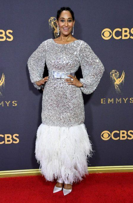 Image result for Emmy Awards Red Carpet 2017 Tracee Ellis Ross