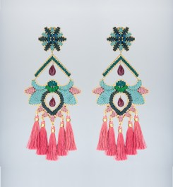 Mercedes Salazar Flor Del Paramo Rosa earrings $325 CAD