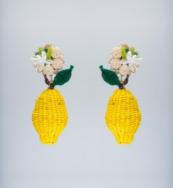 Mercedes Salazar Limon Silvesre earrings $145 CAD