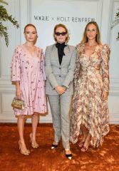Holt-Renfrew-VOGUE-pop-up-Kate Bosworth, Lisa Love and Alexandra Weston