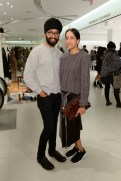 Holt-Renfrew-VOGUE-pop-up-Parambir Keila and Anjli Patel
