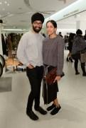 Holt-Renfrew-VOGUE-pop-up-Parambir Keila and Anjli Patel