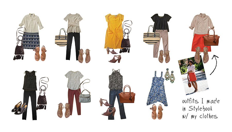 Stylebook Closet App  How To Shop Your Closet  The Amazing Spring     This guide will help you shop your own closet and take a fresh look at your  existing wardrobe  Like me  you may find that you don t need to go shopping  at
