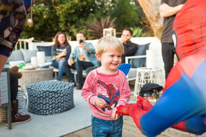 Decorations_Blue_Gold_White_Spiderman_Emily Henderson_Boys Birthday8