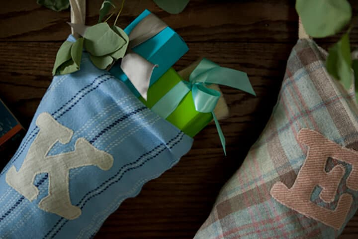 Secrets-From-A-Stylist_Emily-Henderson_Blue_Teal_Gold_Green_Holiday_Decorations3