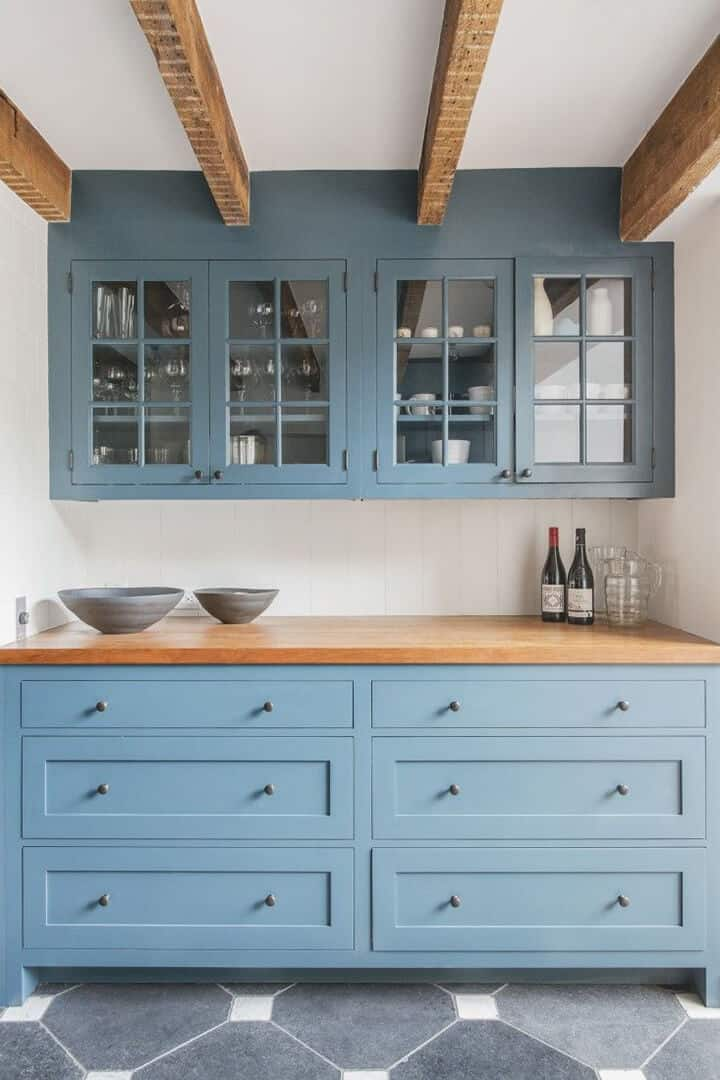 Kitchen Trends_Emily Henderson_Glass Front Cabinets
