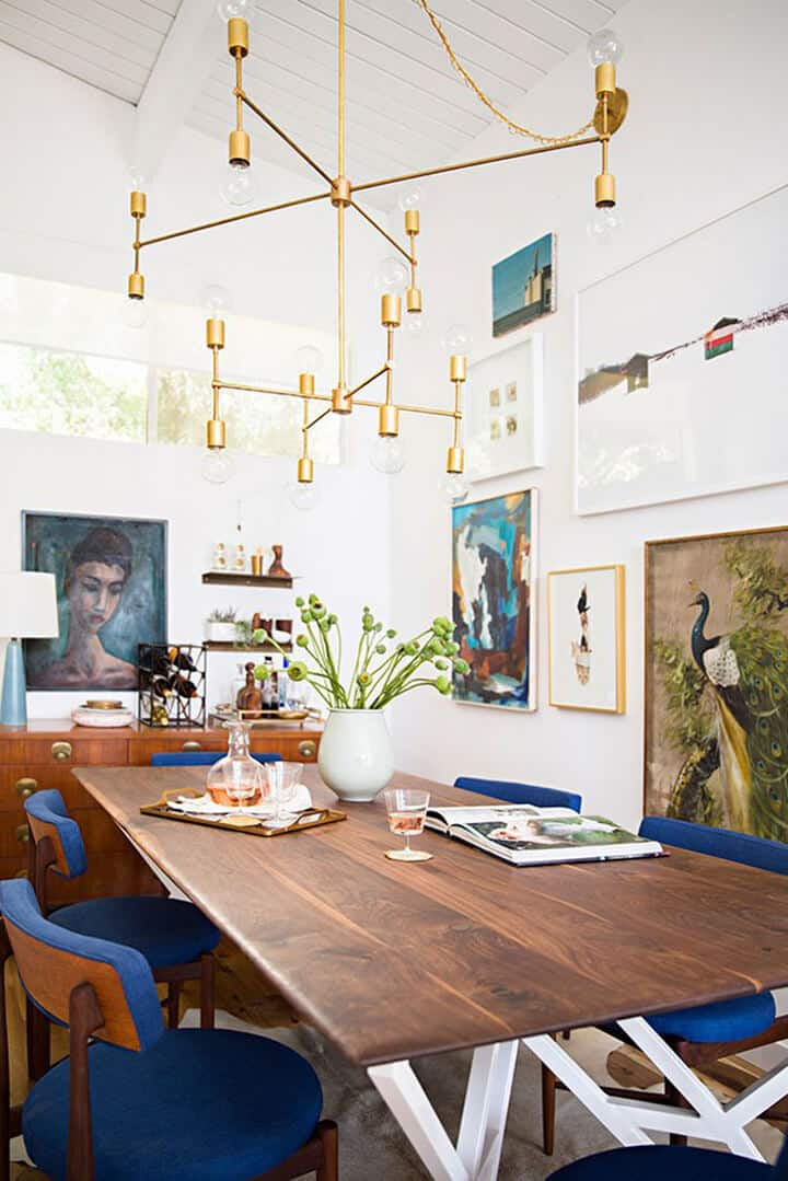 My Biggest Design Regrets_Emily Henderson Dining Room_Chandelier