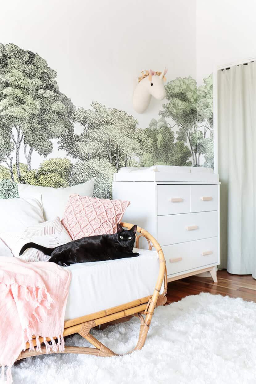 Emily Henderson Bear Cat Nursery