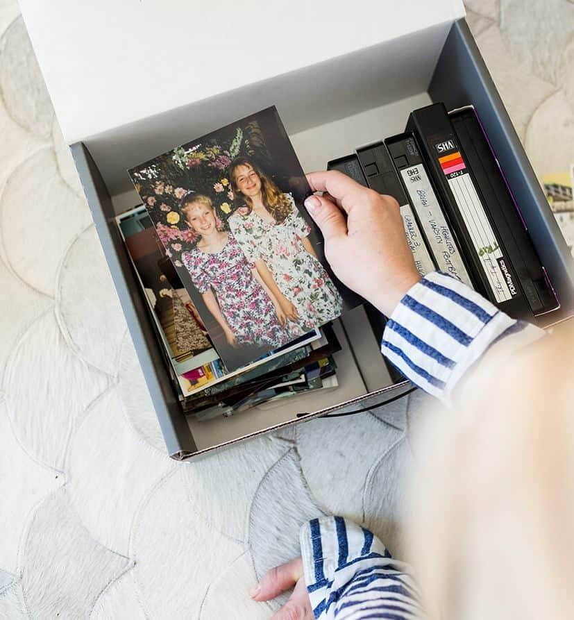 Emily Henderson Digitizing Family Photos