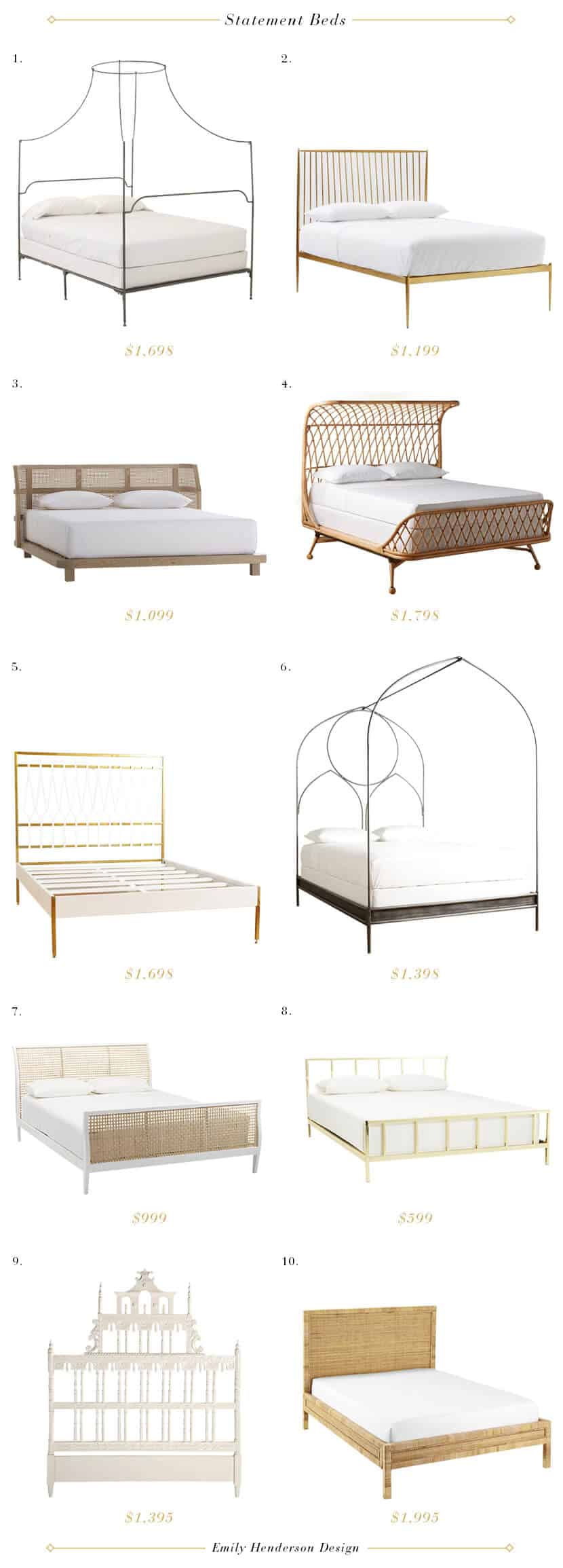 Emily Henderson Statement Beds