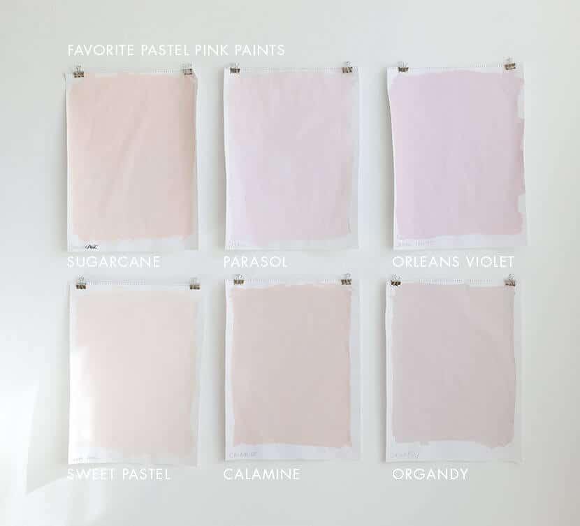 Favorite Pastel Pink Paint