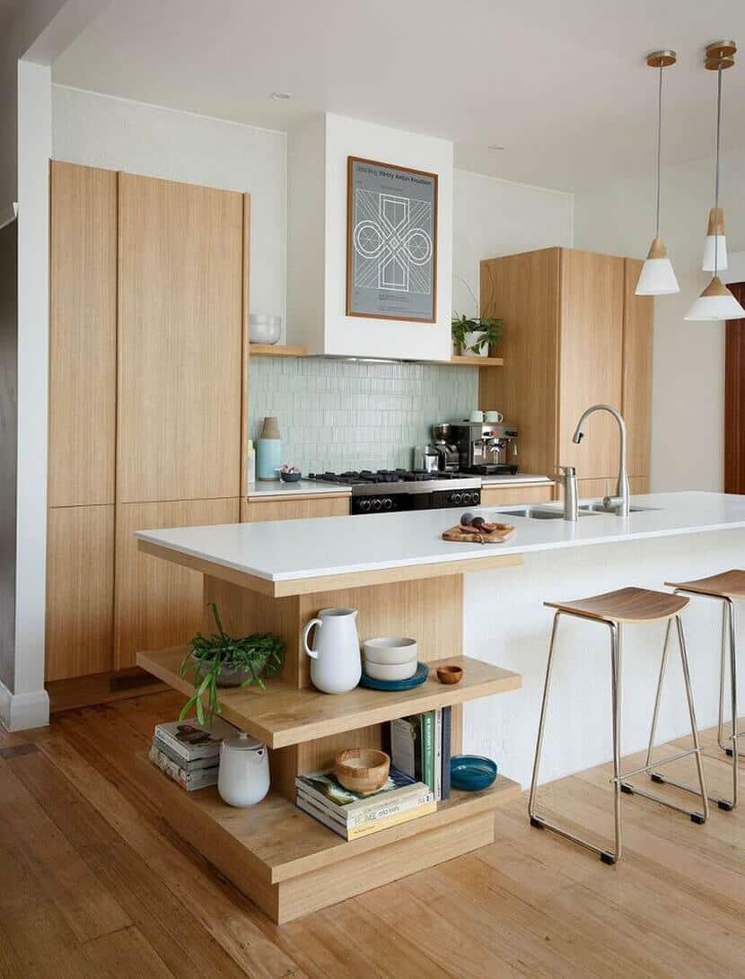 Minimal Modern Bright Kitchen