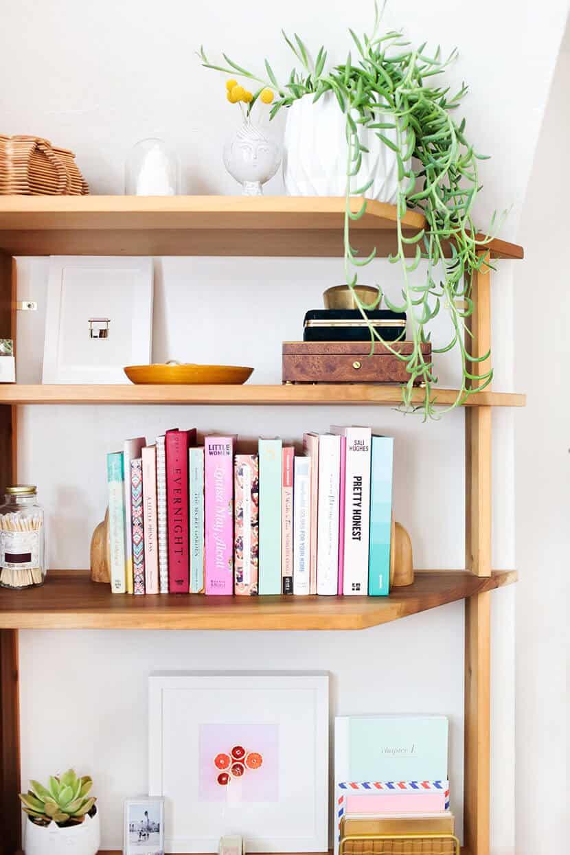 Sara Tramp Custom Wood Built In Shelves