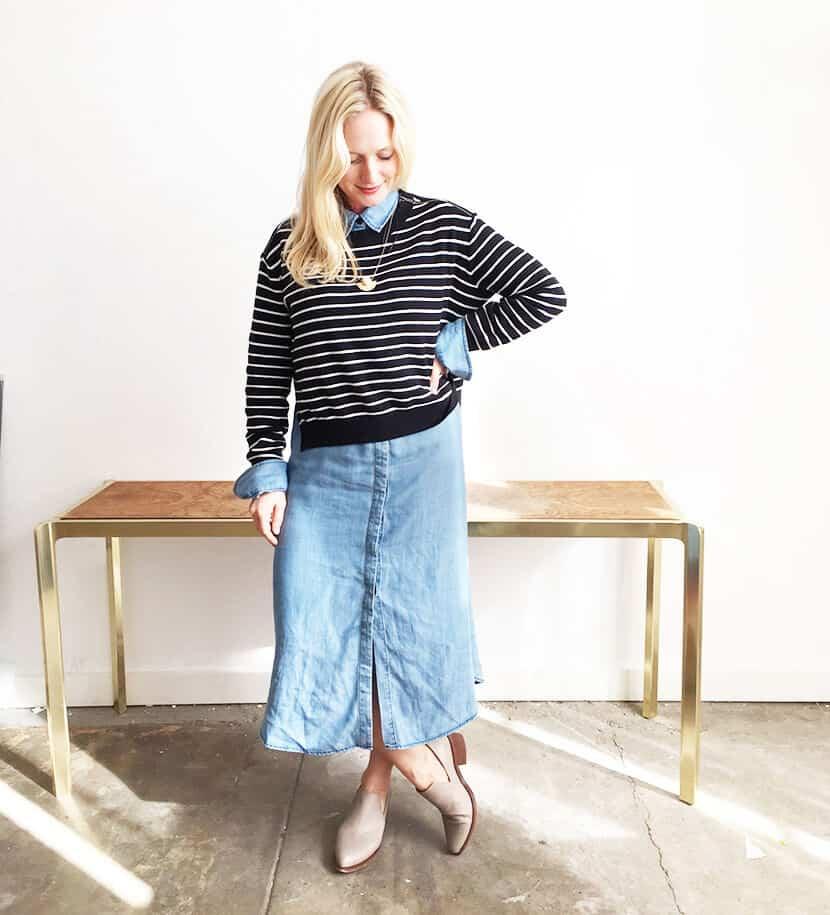 Emily Henderson What I Wore Fashion Clothing1