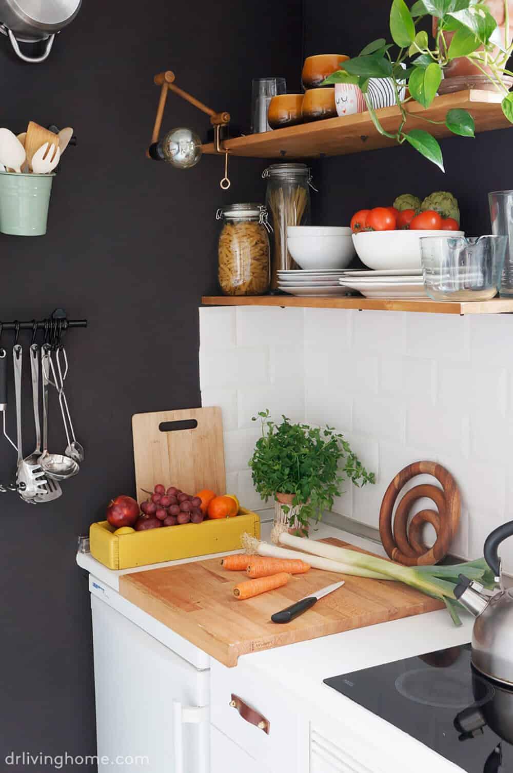 DIY Kitchen Makeover Dr Livinghome After Affordable Redo Emily Henderson