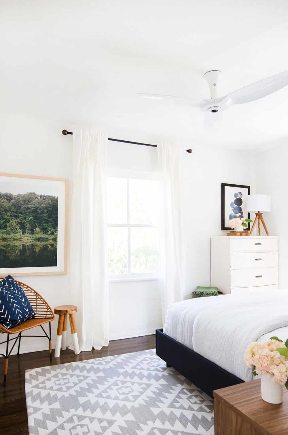 Haiku Fan Guest Bedroom Interior Makeover-3