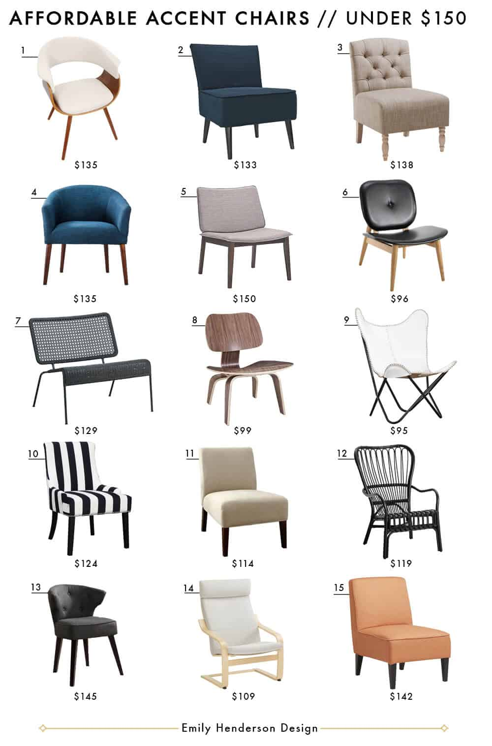 Accent Chairs Emily Henderson