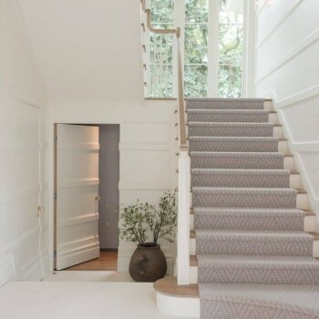 Should I Add A Carpet Or Rug Runner To My Mountain House Staircase | Stairs With Carpet In The Middle | Runner Corner | Laminate | Contemporary | Run On Stair | Marble