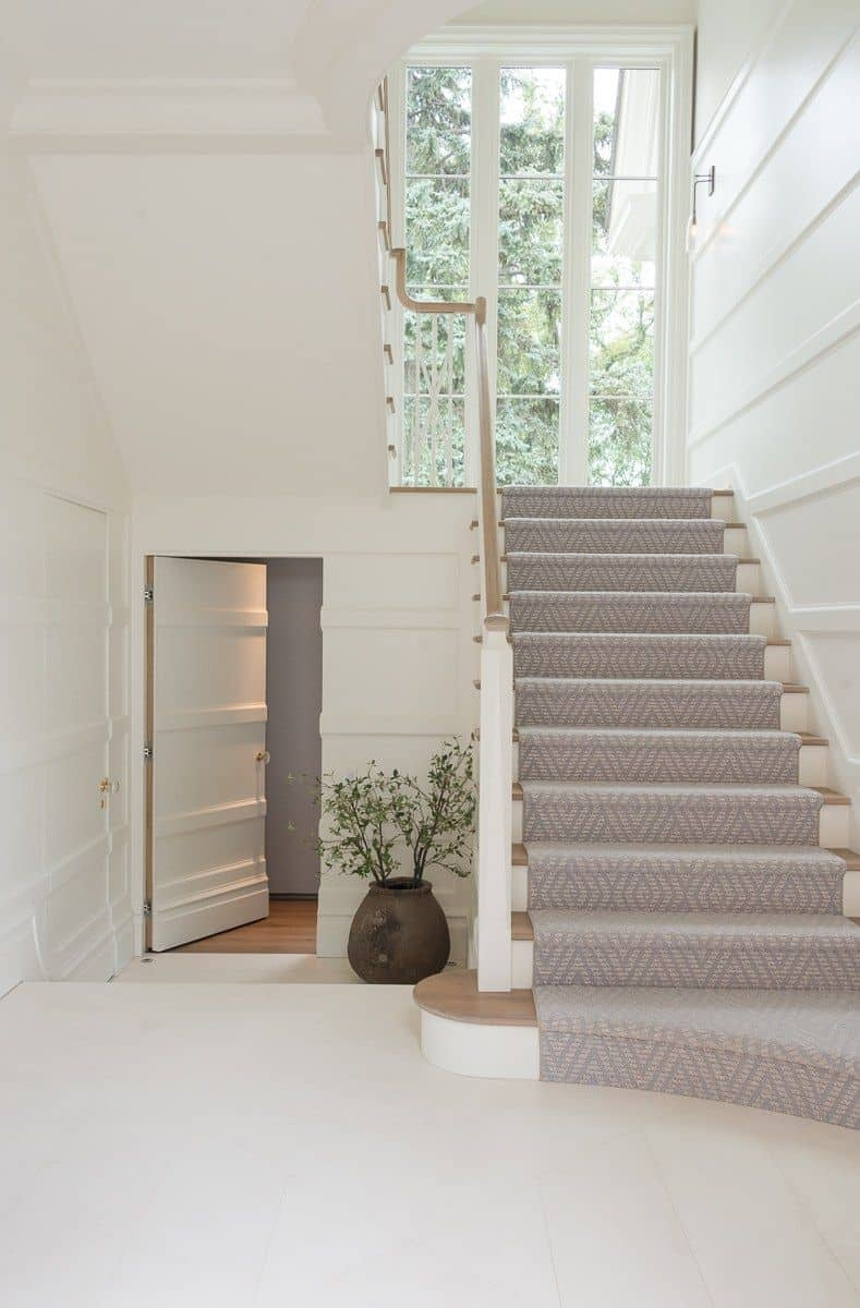 Should I Add A Carpet Or Rug Runner To My Mountain House Staircase | Temporary Carpet For Stairs | Non Slip | Stair Treads | Tile | Protection | Plastic