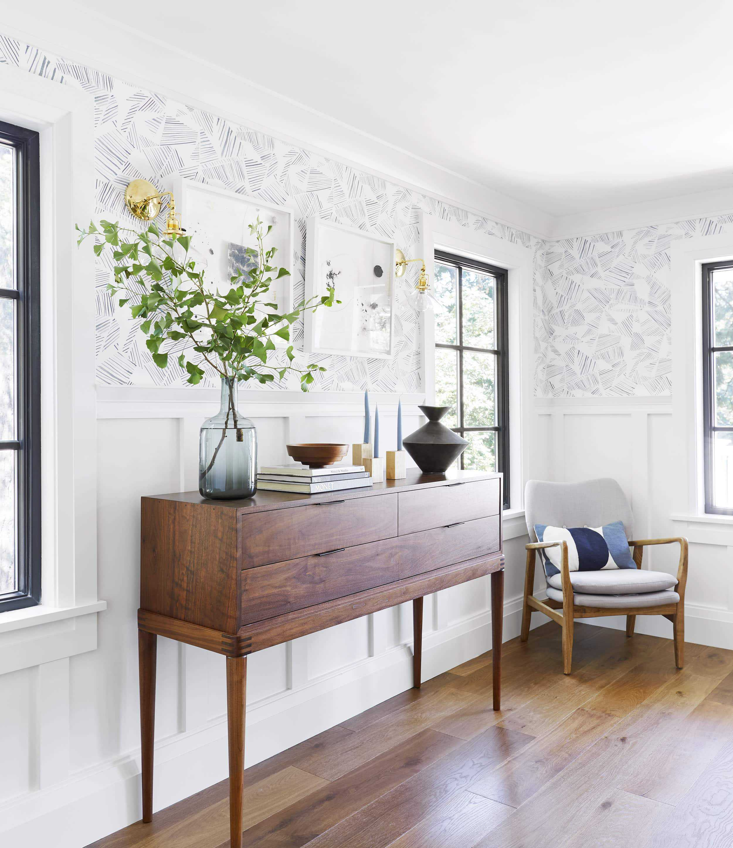 Emily Henderson Portland Traditional Dining Room14
