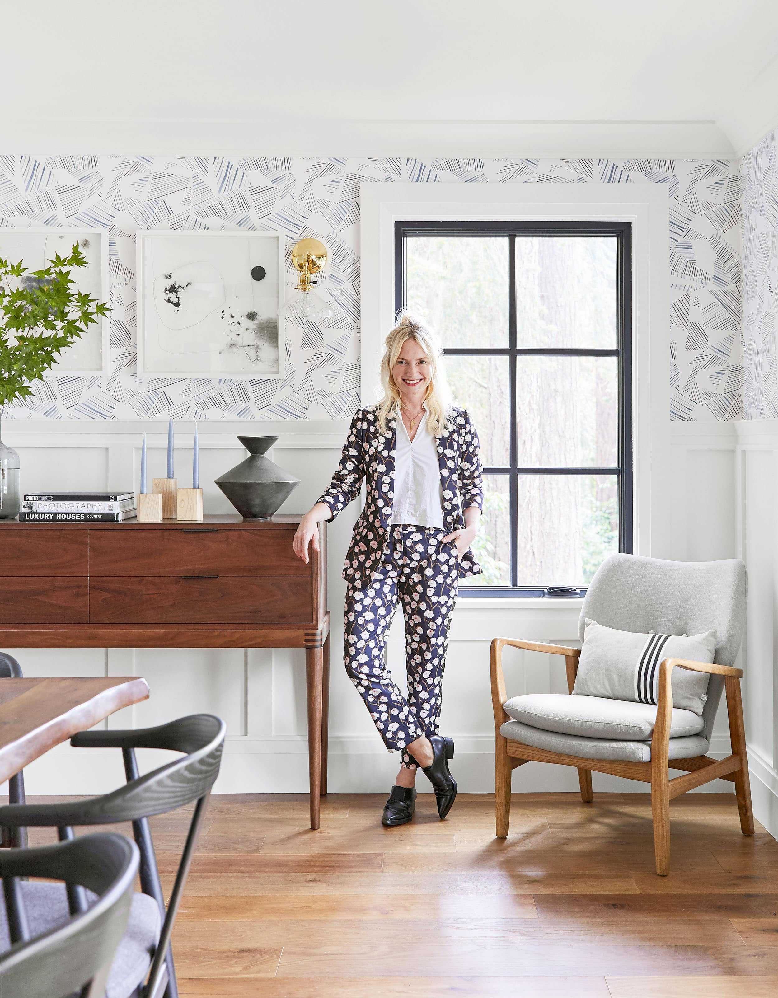 Emily Henderson Portland Traditional Dining Room26