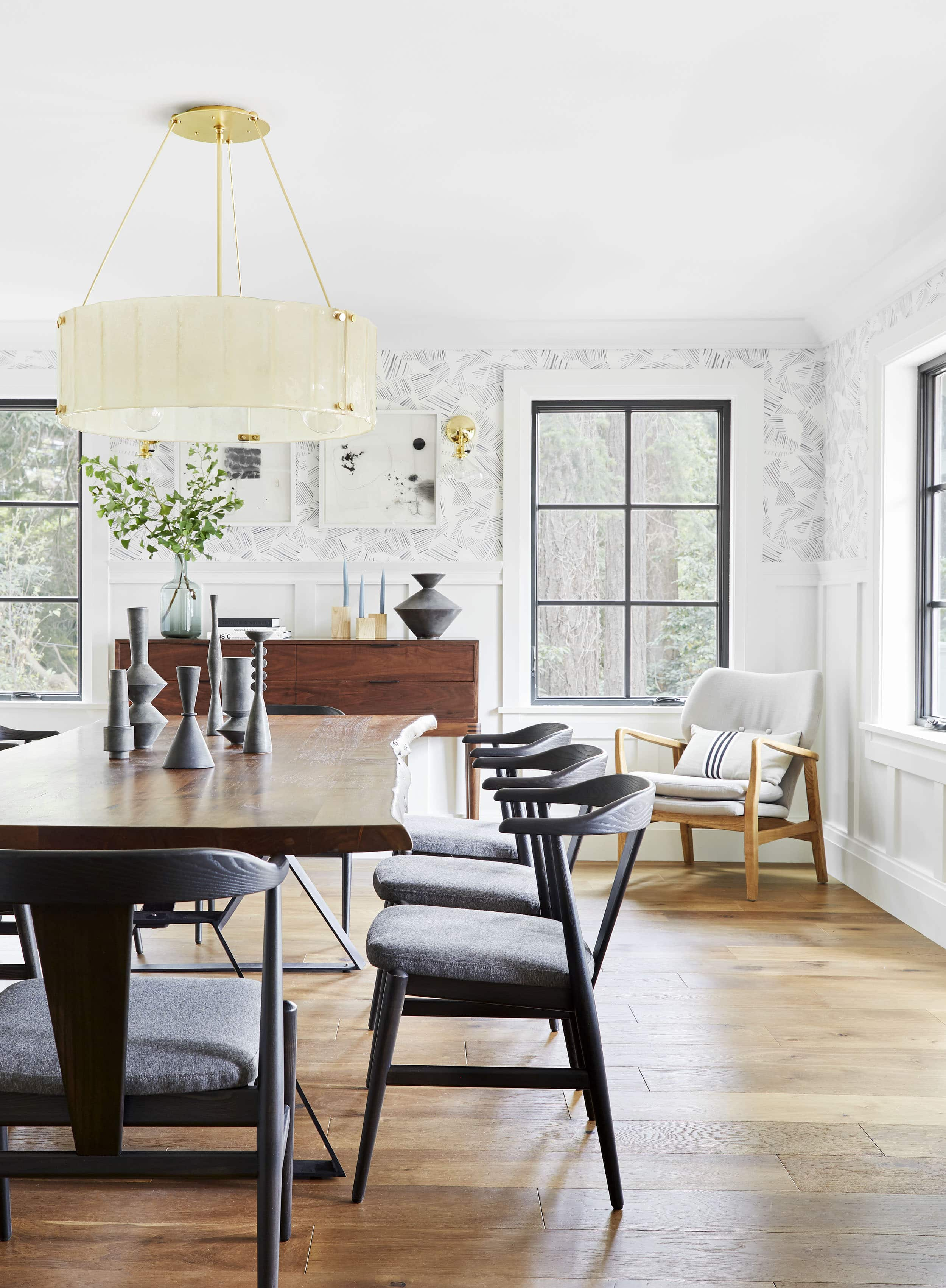 Emily Henderson Portland Traditional Dining Room4
