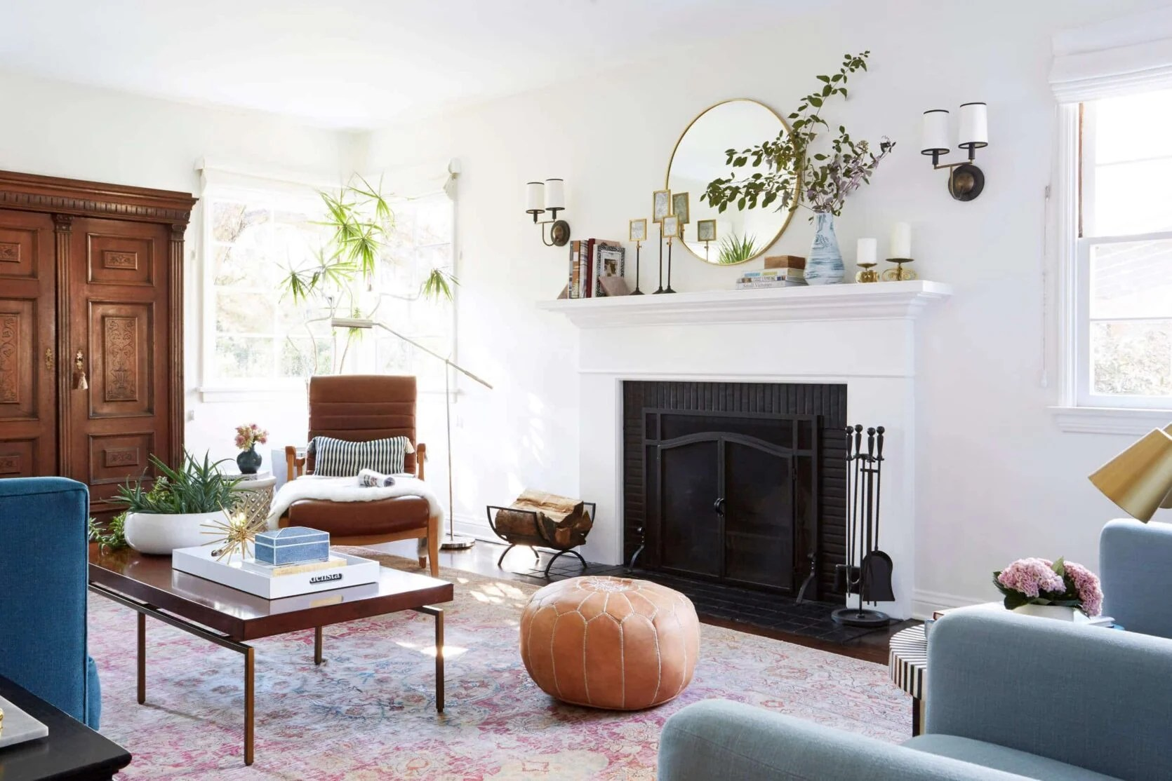 Emily Henderson Mantel Styling Ideas