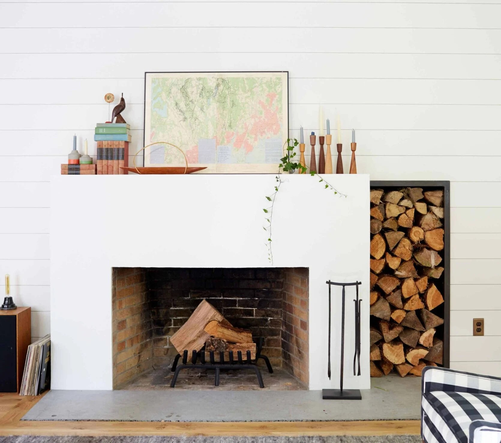 Emily Henderson Fireplace & Mantel Styling Ideas