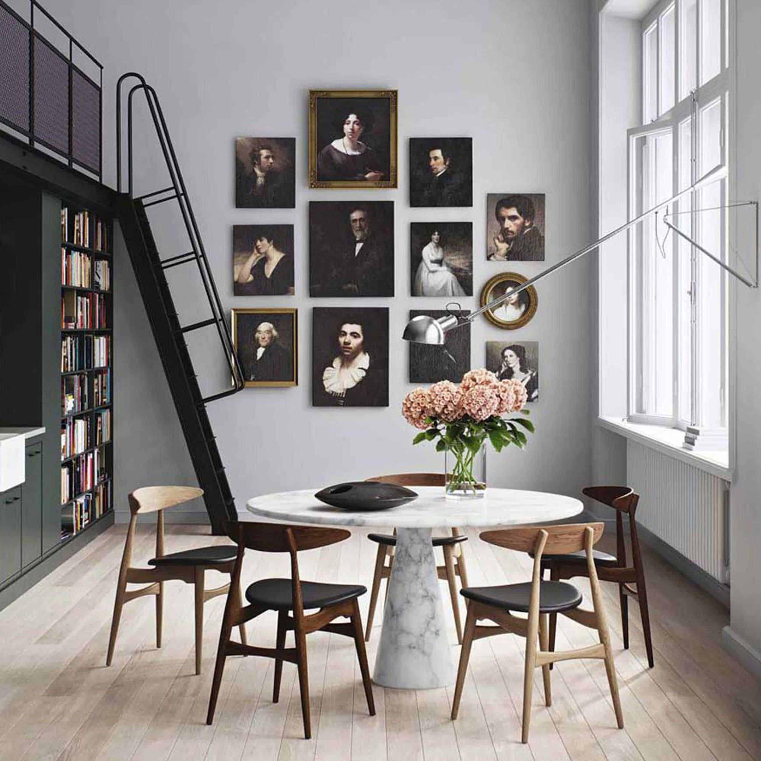dining room lighting trend