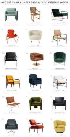 Accent Chairs Under 800 Organized By How You Actually Use Them Emily Henderson