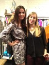 Sabine Costello, District Manager and Julia Cathcart, designer for Rachel Mara