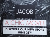 Jacob's new store