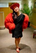 Love that flamboyant jacket!
