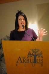 Jennifer Halinda, Executive Director of Dress For Success Vancouver
