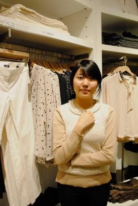 Sales Associate Lily Li