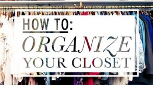 How to Organize Your Closet by Kim XO