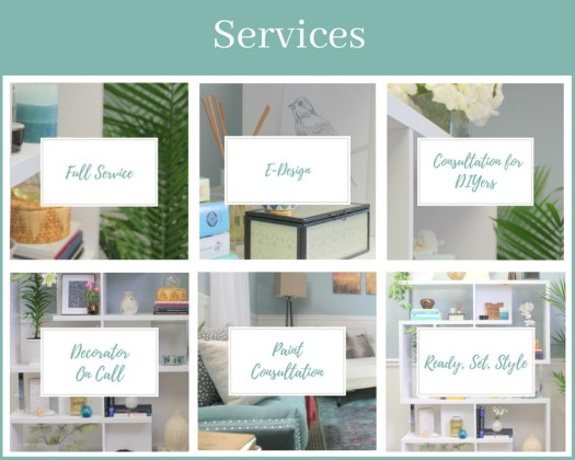 Interior Decorating services offered by Style by Mimi G