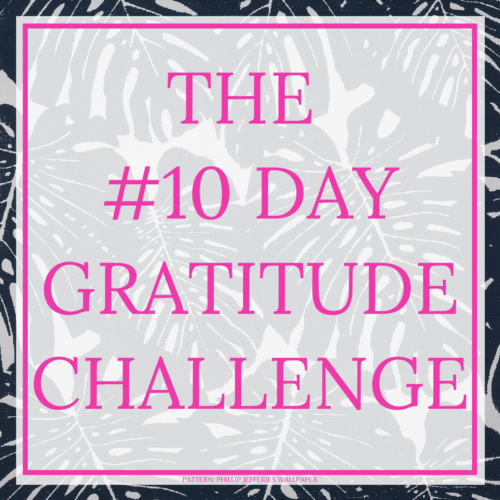 THE #10DAYGRATITUDE - by Style by Mimi G, interior decorator and e-designer, servicing NY and NJ