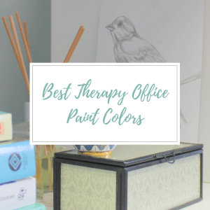 BEST PAINT COLORS FOR A THERAPY OFFICE