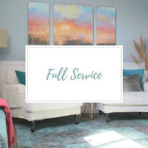 Full Service, available to design clients in the tri-state area by Style by Mimi G, Interior Decorator