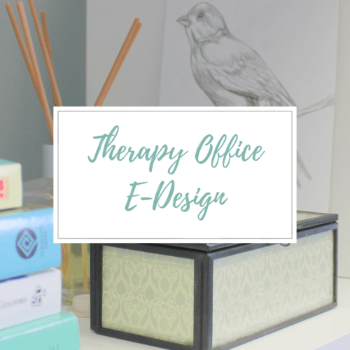 Therapy Office Blog-by E-Designer Style by Mimi G