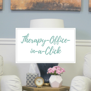 Therapy Office Decor E-Design Package by Style by Mimi G