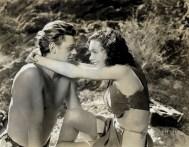 1934-ben a Tarzan filmben, merész bőr bikineket láthattunk / This leather bikini is from the Tarzan movie from 1934