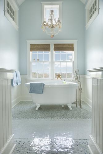 9 Globe Frank Roop master bath