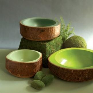 bark bowls