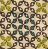 Pattern Mahalakshmi- hathi gray-ranigreenbig