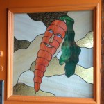 Carrot a Day: Stained Glass Carrot in Wellfleet