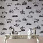 Royal Decor: Graham & Brown Crowns & Coronets Wallpaper