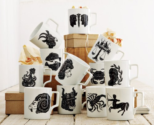 Patch NYC mugs for West Elm Stylecarrot